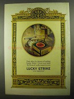 1925 Lucky Strike Cigarettes Ad - Don't Delay Pleasure