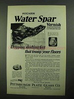1923 PPG Pitcairn Water Spar Varnish Ad