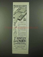 1923 Huntley & Palmers Biscuits Ad, Sweetmeats of Kings