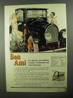 1922 Bon Ami Cleanser Ad - For Windows, Windshields