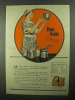 1922 Bon Ami Cleanser Ad - Bon Ami For Aluminum etc.