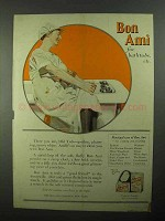 1922 Bon Ami Cleanser Ad - For Bathtubs Etc