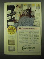 1922 Congoleum Gold Seal Rugs Ad - No. 508, 396 and 408