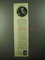 1922 Listerine Antiseptic Ad - It Never Occurred to Him