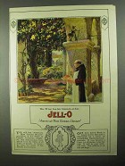 1922 Jell-O Gelatin Ad - The Friar Has His Mission