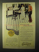 1922 Congoleum Gold Seal Rug Ad - No. 408