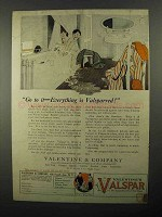 1922 Valentine's Valspar Ad - Go To It Everything