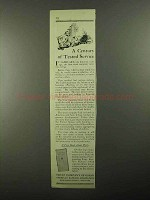 1922 ABA Trust Company Division Ad - Tested Service