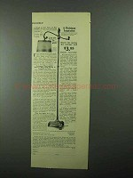 1922 Decorative Arts League Greek-Pompeian Lamp Ad