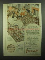 1921 Congoleum Gold Seal Rugs Ad - No. 388