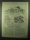 1921 American Face Brick Association Ad - House No. 610