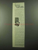 1921 Edgeworth Tobacco Ad - Called Buffet Smokers