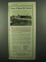 1920 St. Louis Chamber of Commerce Ad - They Chose