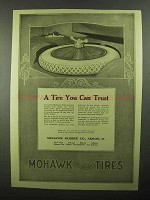 1920 Mohawk Tires Ad - A Tire You Can Trust