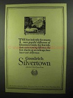 1920 Goodrich Silvertown Tires Ad - NICE!