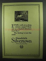 1920 Goodrich Silvertown Tires Ad - Best in Long Run