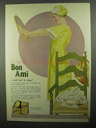 1920 Bon Ami Ad - And Isn't it Clear!
