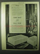 1920 Ivory Soap Ad - Purity