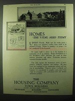 1920 The Housing Company Ad - Vital Need Today