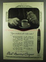 1920 Robt. Burns Invincible Cigar Ad - You Smokers