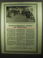 1920 Packard Motor Car Ad - Experience vs. Features