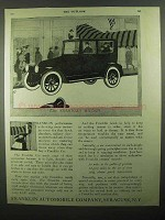 1920 Franklin Sedan Ad