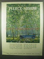 1920 Pierce-Arrow Dual Valve Six Car Ad