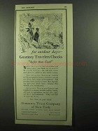 1920 Guaranty Trust Company of New York Ad - Outdoor