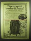 1918 Victor Victrola XVII Ad - In Home this Christmas