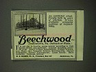 1918 Beechwood School Ad - An Established School
