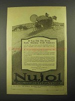 1916 Standard Oil Nujol for Constipation Ad - Did This