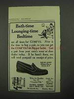 1915 Daniel Green Slip-On Comfy Shoe Ad - Bath-Time