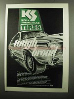 1970 Kelly Springfield Wide Belt 60 Tires Ad - Tough