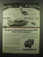 1970 Goodyear Pathfinder & Suburbanite Polyglas Tire Ad