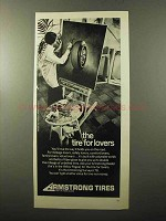 1970 Armstrong Surveyor 78 Tire Ad - NICE!