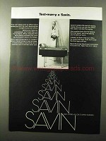 1970 Savin Copiers Ad - Test-Marry a Savin