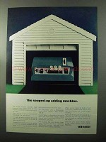 1970 Olivetti Quanta Electric Calculator Ad - Souped-Up