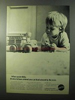 1970 Mattel Chatter-Buggies Toy Ad - When You're Little