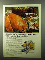 1970 Reynolds Wrap Ad - A Tastier Turkey