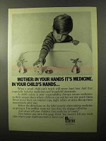 1970 CFH Council on Family Health Ad - In Child's Hands