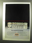 1970 Texaco Havoline Motor Oil Ad - An Oil Change