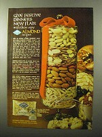 1970 Blue Diamond Almonds Ad - Give Festive Dinners