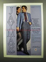 1970 Jaymar Wide Waistband Slacks Ad - Which Style