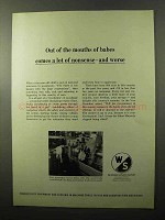 1970 Warner & Swasey SC-28 Turret Lathe Ad - Mouths of Babes