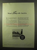 1970 Warner & Swasey Hydro-Scopic Excavator Ad - What's Right America