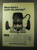 1970 Sears Router Model 2507 Ad - What Does Router Do?