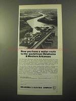 1970 Oklahoma Gas and Electric Company Ad - Water Route