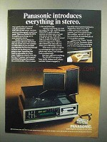 1970 Panasonic Essex Model RS-257S Stereo Ad