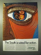 1970 The Southern Company Ad - South is Wired for Action