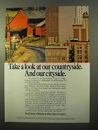 1970 Ohio Edison Ad - Take a Look at Our Countryside